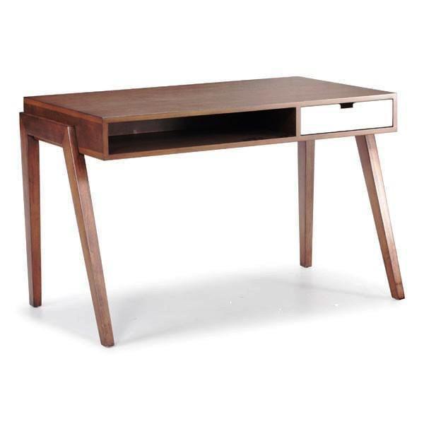 small mid century modern desk | desk | pinterest | mid century