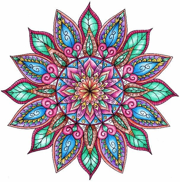 Your Life In A Circle Creating Your Own Special Mandala Designs Colorful Mandala Tattoo Mandala Coloring Mandala Coloring Pages