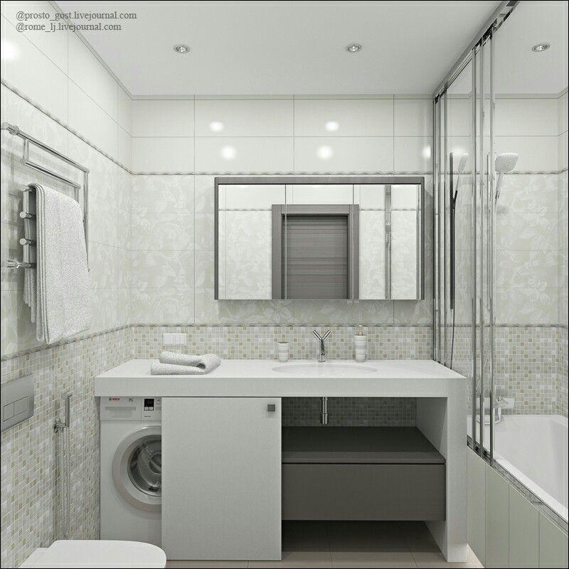 25 Minimalist Small Bathroom Ideas Feel The Big Space Pandriva Laundry In Bathroom Bathroom Layout Small Bathroom