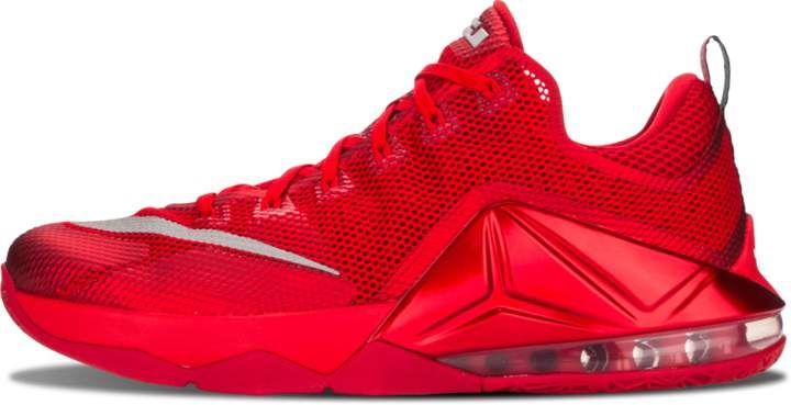 buy online f07ba a2a89 Nike Lebron 12 Low 'All Over Red' - Size 11 | $hoes | Nike ...