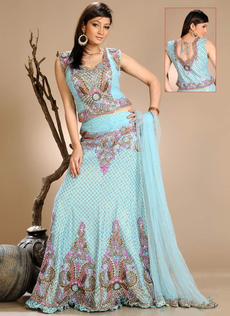 Impressive Special Occasion Dress With Pretty Lehenga-10 | Fashion ...