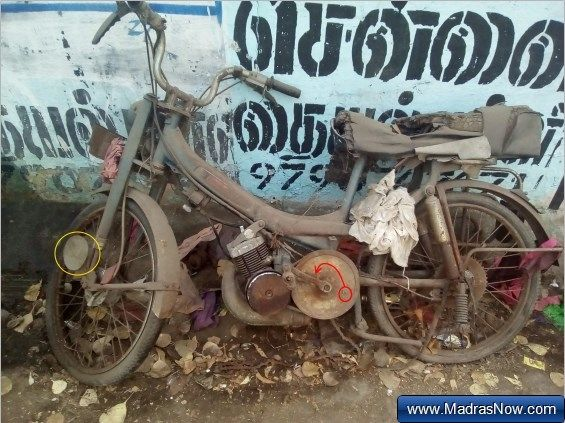 Suvega In India French Motobecane Mobylette Or Raleigh Moped