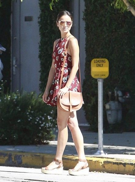Jamie Chung Out And About On Melrose
