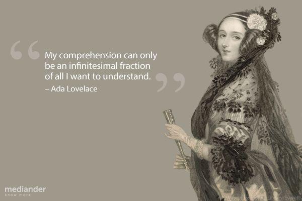 Ada Lovelace | Mediander | Connects