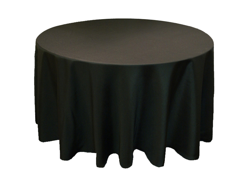Table Setting Color App Black Tablecloth Wedding Table Linens