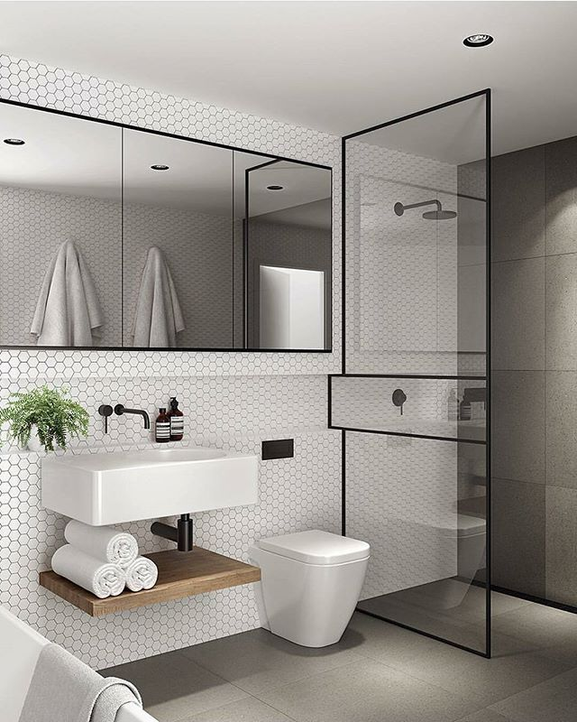Cute Bathroom Ideas For Apartments: St Kilda Apartment By : Tom Robertson Architects Location : Melbourbe, #Australia