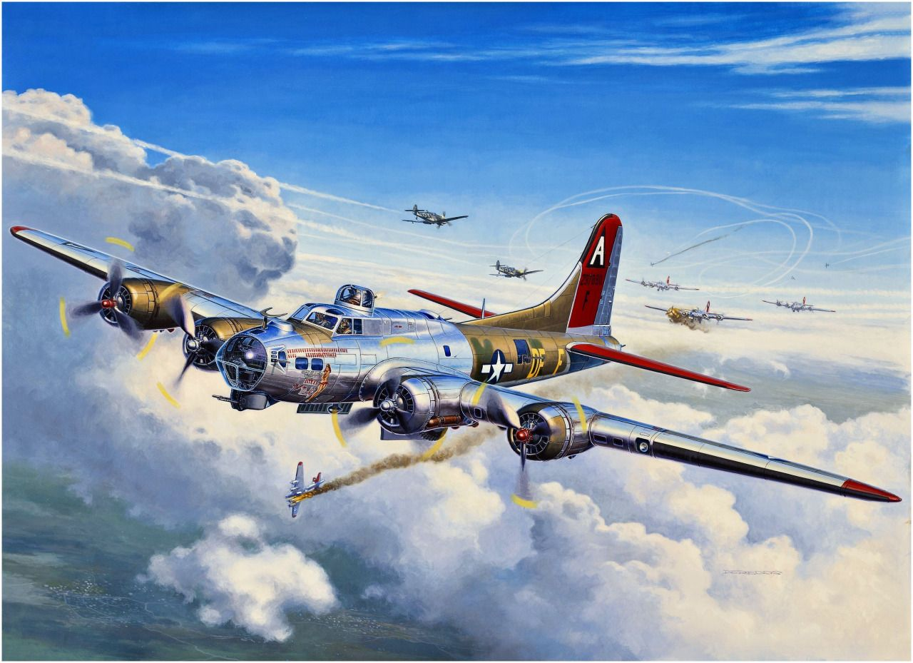 Las Cosicas del Panzer — Boeing B-17 G Flying Fortress...
