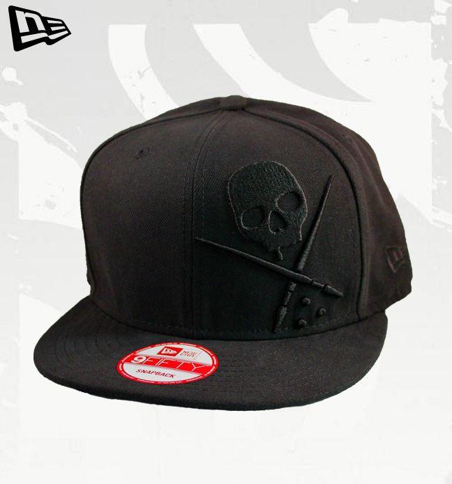 60b76d708da5e FOREVER Snapback NEW ERA Sullen Hat BLACK BLACK Hats by Sullen  New ...