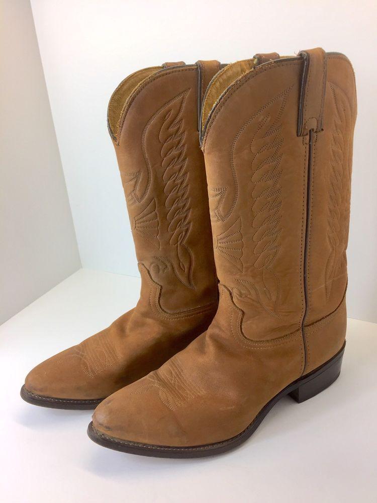 Durango mens western cowboy boots size 11b brown suede