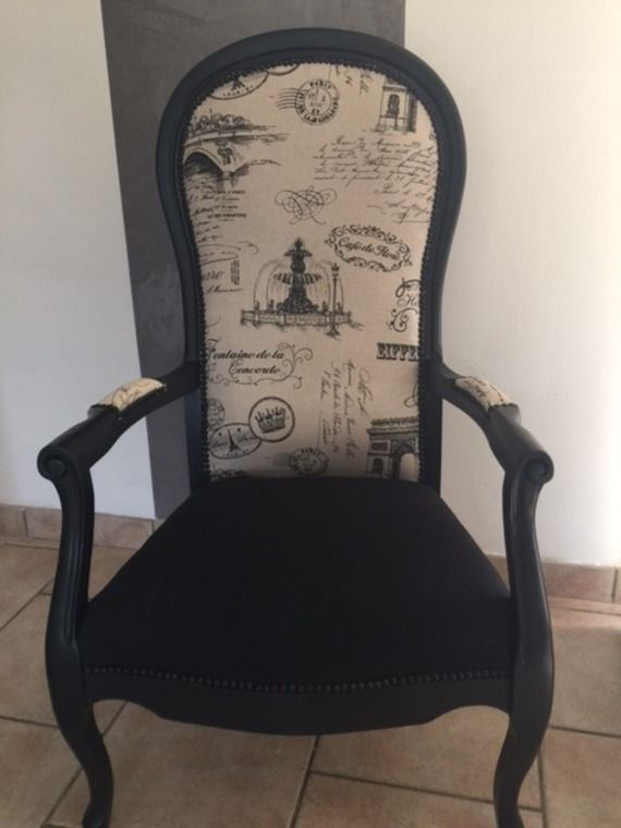 fauteuil voltaire enti rement restaure par nos soins chaises et fauteuils pinte. Black Bedroom Furniture Sets. Home Design Ideas