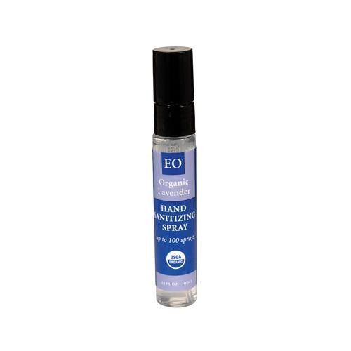 Eo Products Hand Sanitizer Organic Lavender 0 33 Fl Oz Case