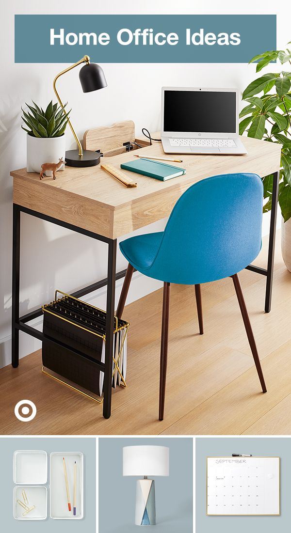 30 Functional And Creative Home Office Ideas: Pin On Efficient Office Space