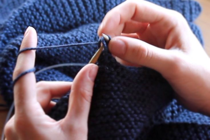 how to bind off knitting loosely