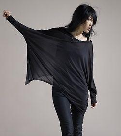 (via Nu-Goth / Eileen Fisher - Find Women's Fashion & Women's Clothing at Eileen Fisher.)