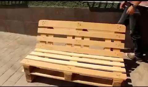 Decoração para casa: Móvel de palete passo a passo #palettendeko