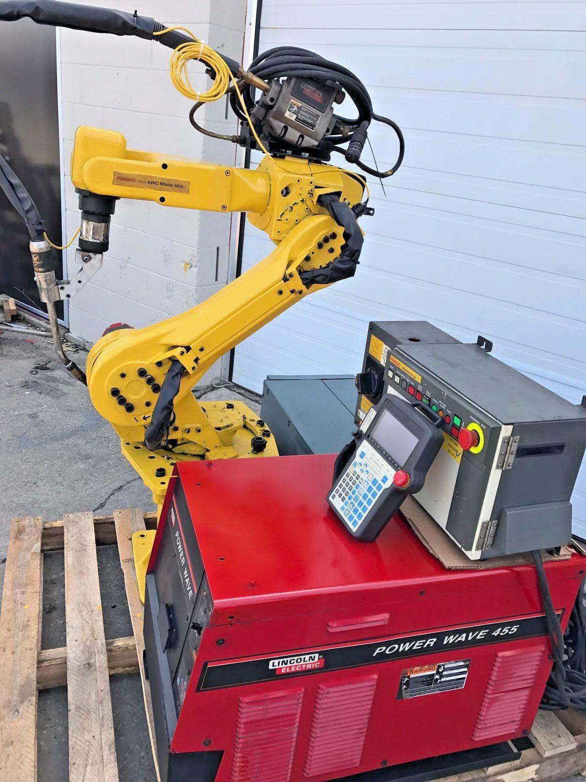 Details about Fanuc Robot Arcmate 100i M6i RJ3 Welding Large