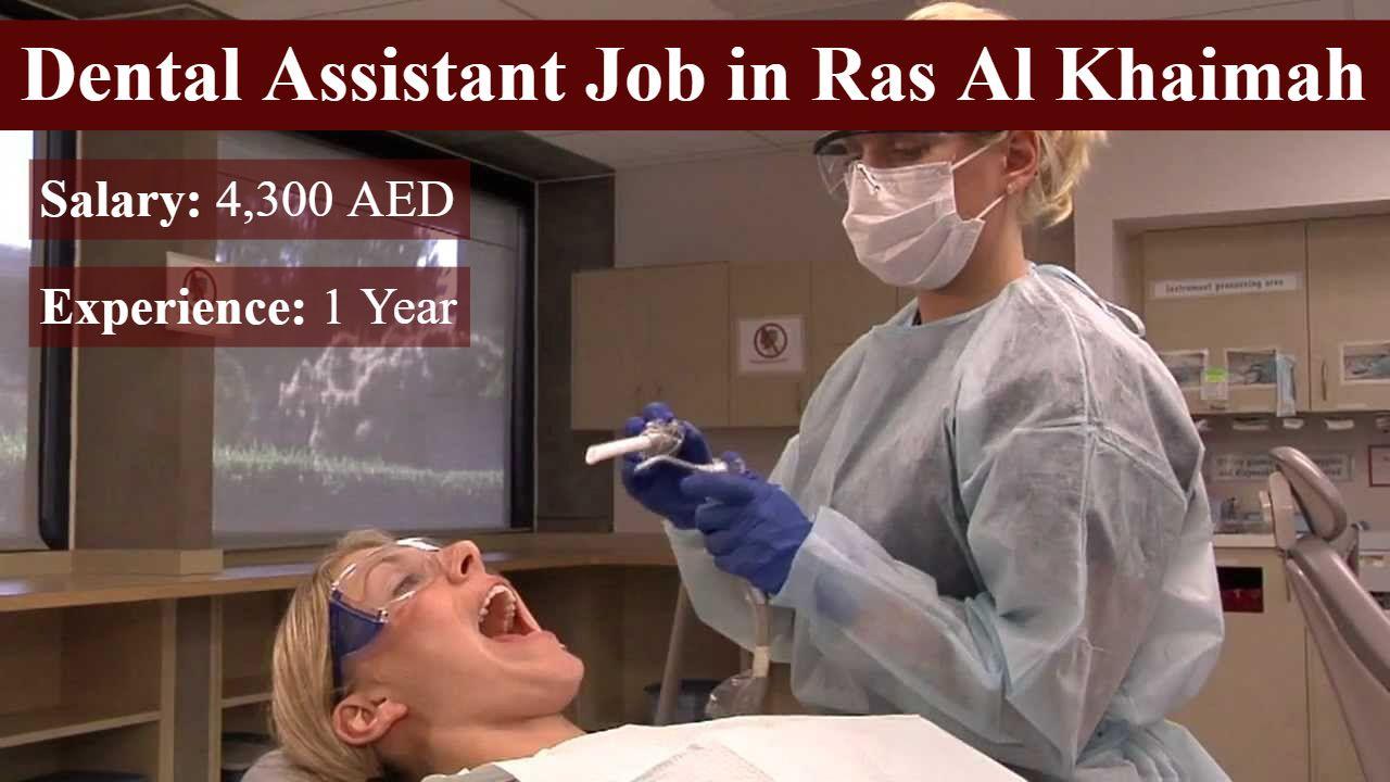 Dental Assistant Job In Ras Al Khaimah Dental assistant
