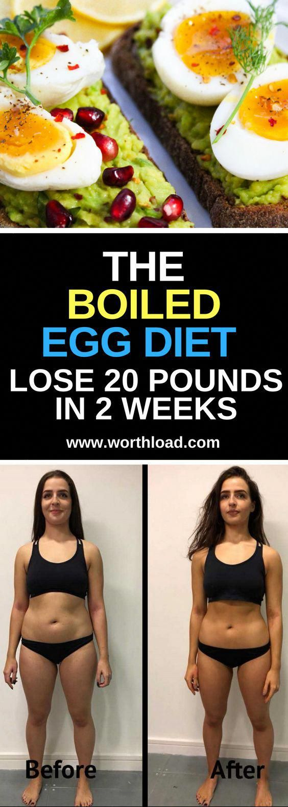 The Boiled Egg Diet Lose 20 Pounds In 2 Weeks