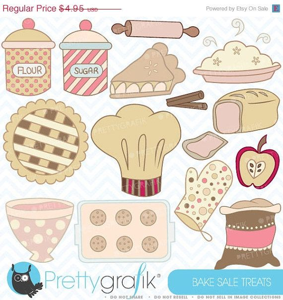 Buy20get10 Bake Sale Clipart Commercial Use Vector Graphics