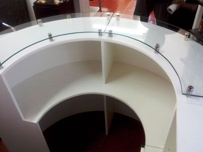 Muebles de recepciones para oficinas modernos mr muebles for Muebles modulares modernos