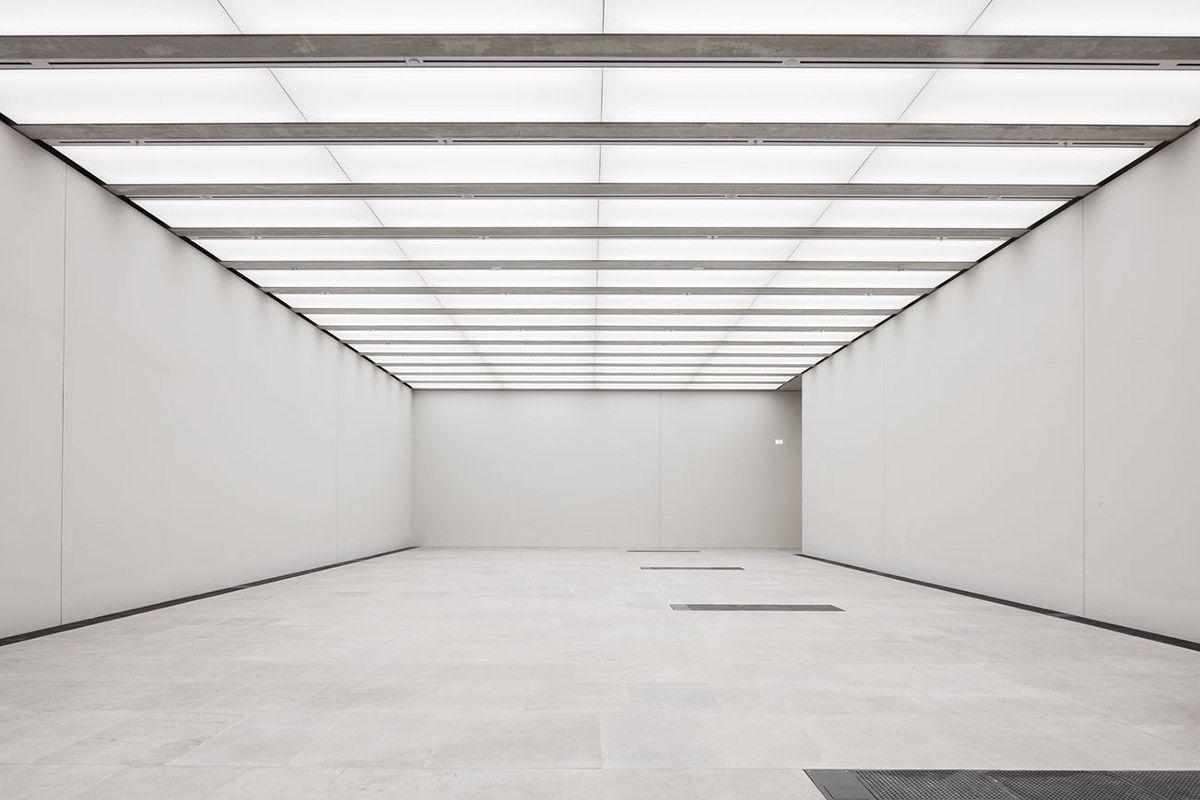 David Chipperfield Architects Opens James Simon Galerie On Berlin S Museum Island David Chipperfield Architects Contemporary Museum Museum Interior