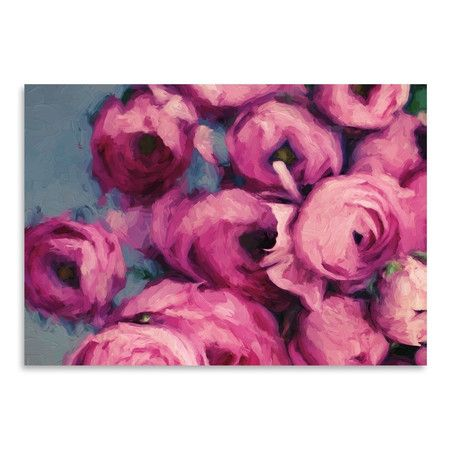 Add garden charm to your foyer or parlor with this lovely print ...
