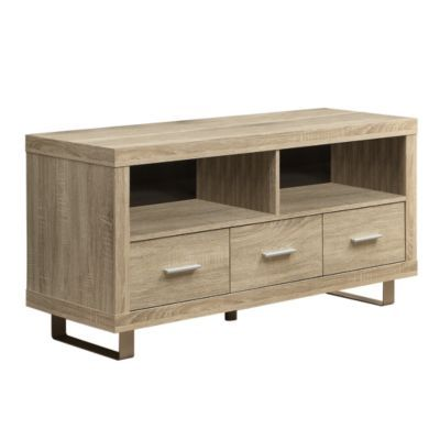 48 Wide Media Cabinet Small And Good Size For Lr Monarch 24h X 48w 18d Wood Tv Console Natural