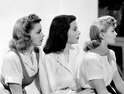 Judy Garland, Hedy Lamarr and Lana Turner