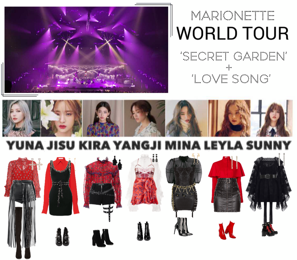 Marionette World Tour Hong Kong Concert Created By Marionette Official On Shoplook Io Perfect For Par Concert Outfit Edgy Outfits Kpop Fashion Outfits