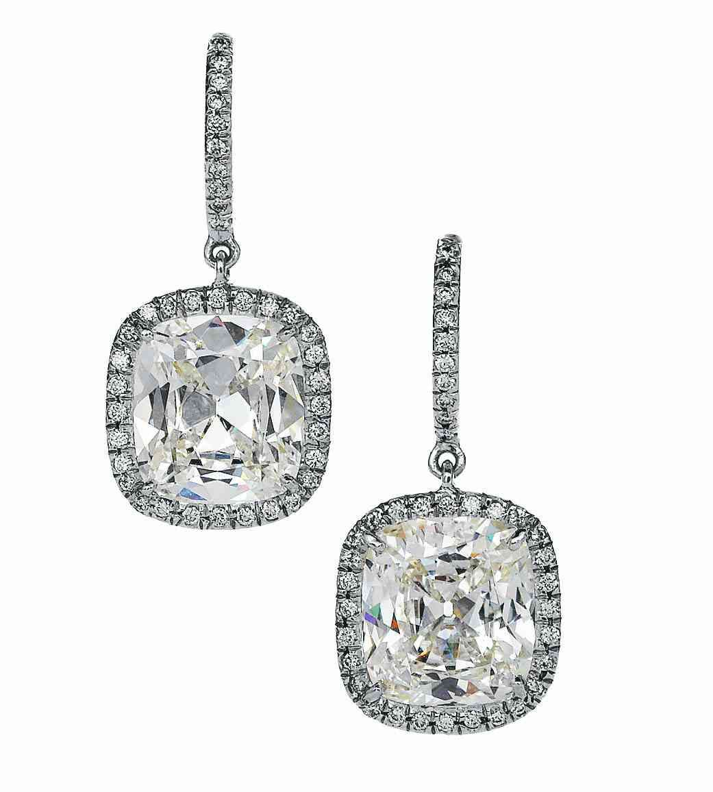 7da851f6373968 ZSE002133- Ziveg 92.5 Sterling Silver Earrings made with Swarovski Zirconia   Image