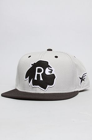 The Native Ninjas Snapback in Steel by RockSmith  d43cc8c3870