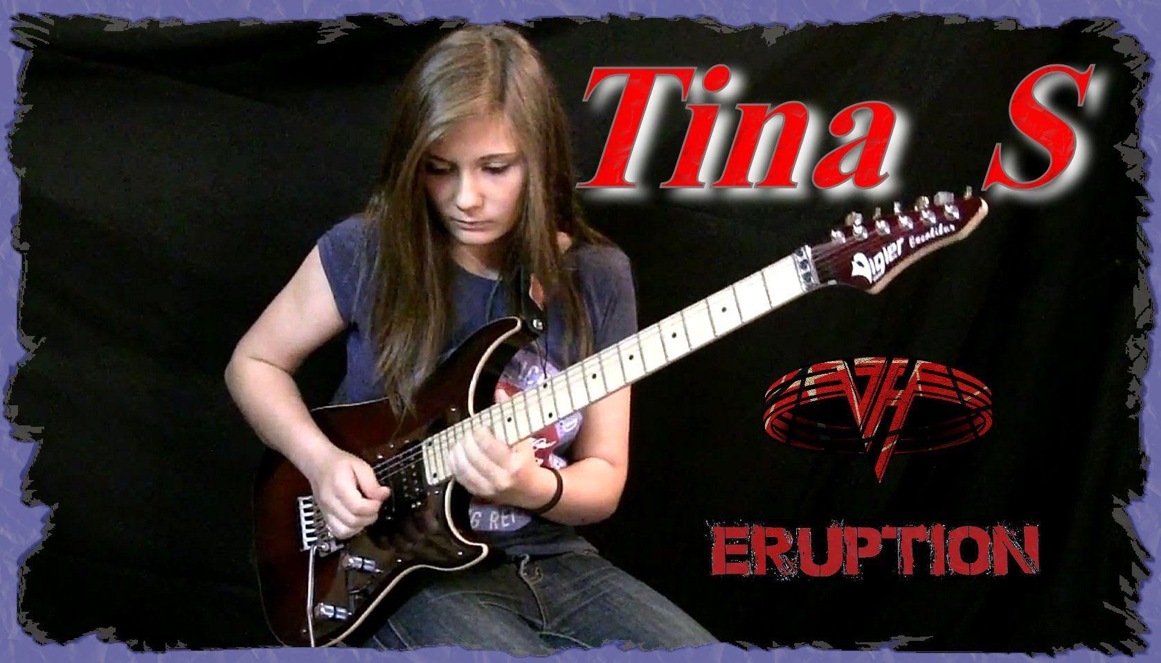 Van Halen Eruption Guitar Cover Van Halen Guitar Guitar Girl