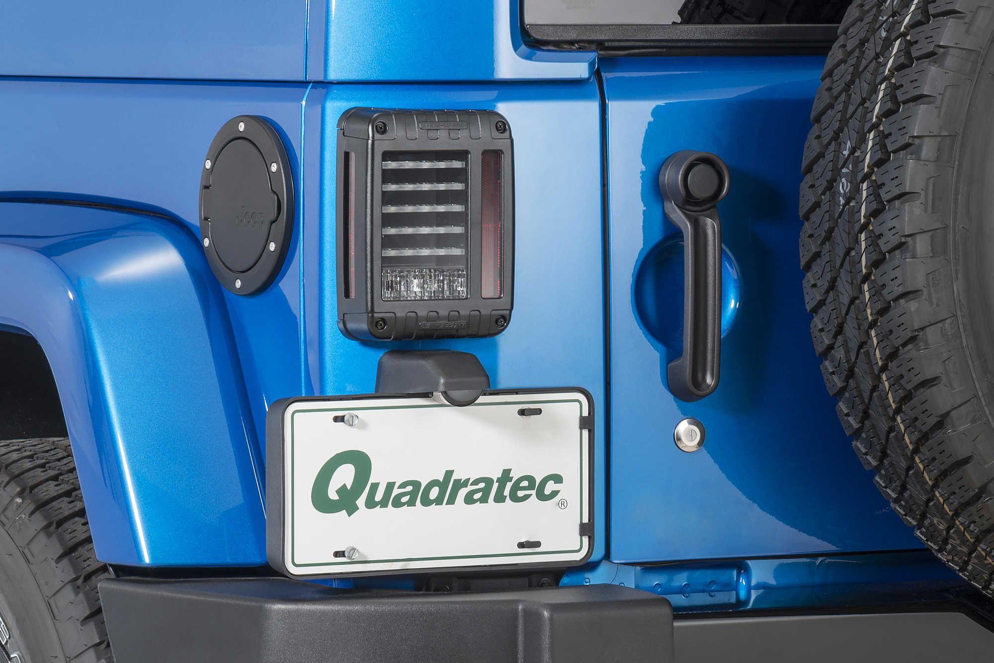 Jw Speaker 279 J Series Led Tail Light Kit For 07 16 Jeep Wrangler Kits Unlimited Jk Quadratec