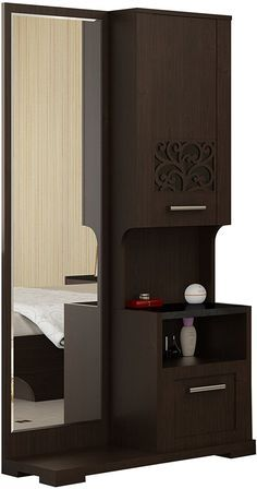 Spacewood Akina Dressing Table (Brown): Amazon.in: Home ...