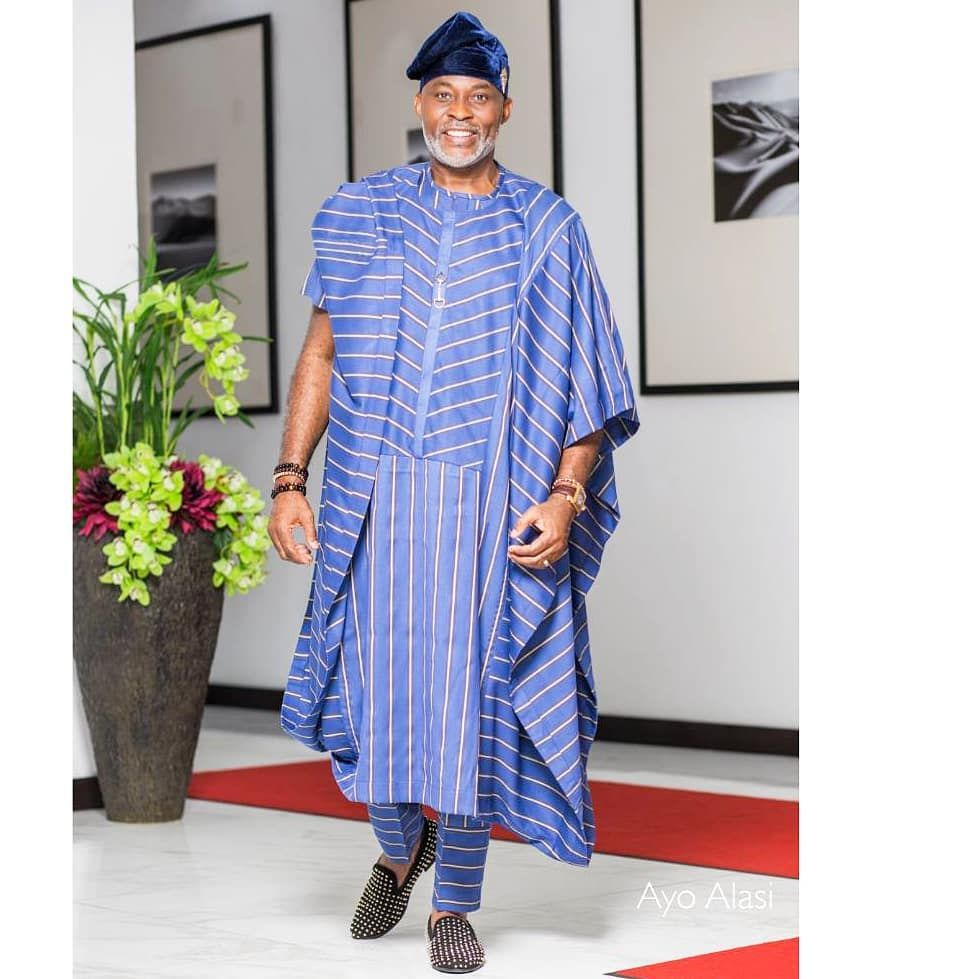 9337f14758 Richard Mofe-Damijo 'RMD' Agbada Styles. Always Looking Exceptional ...