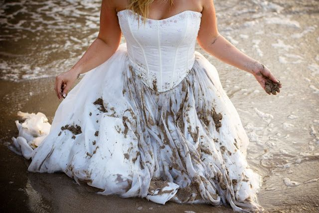 Dress in the sand