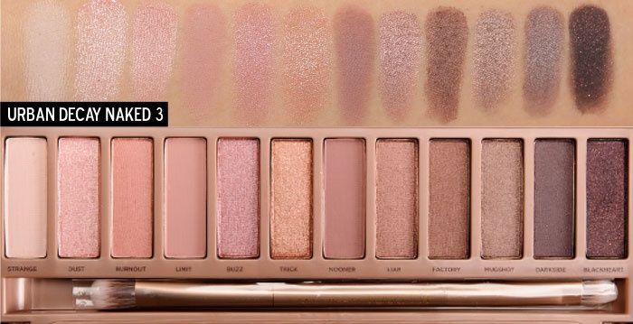 Paleta réplica da Naked - muita pigmentação