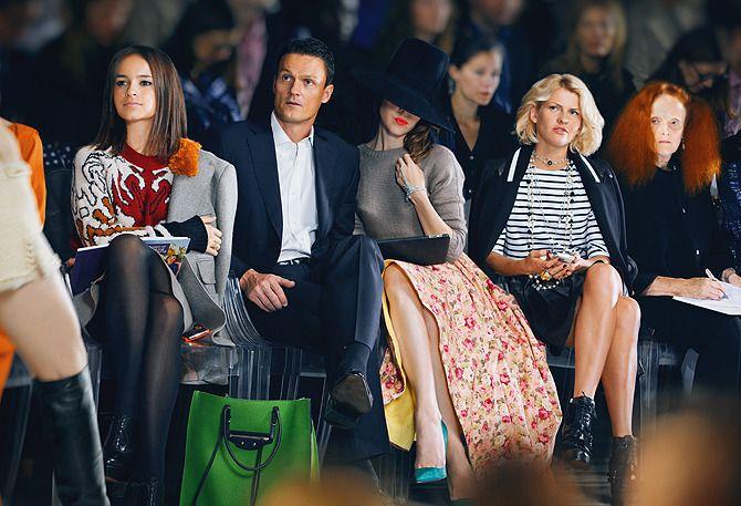 RETRO fashion inpiration – Ulyana Sergeenko