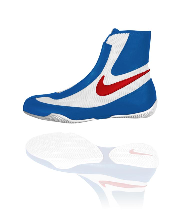 Nike Machomai Mid Red (With images) Boksestøvler, Boksing  Boxing boots, Boxing