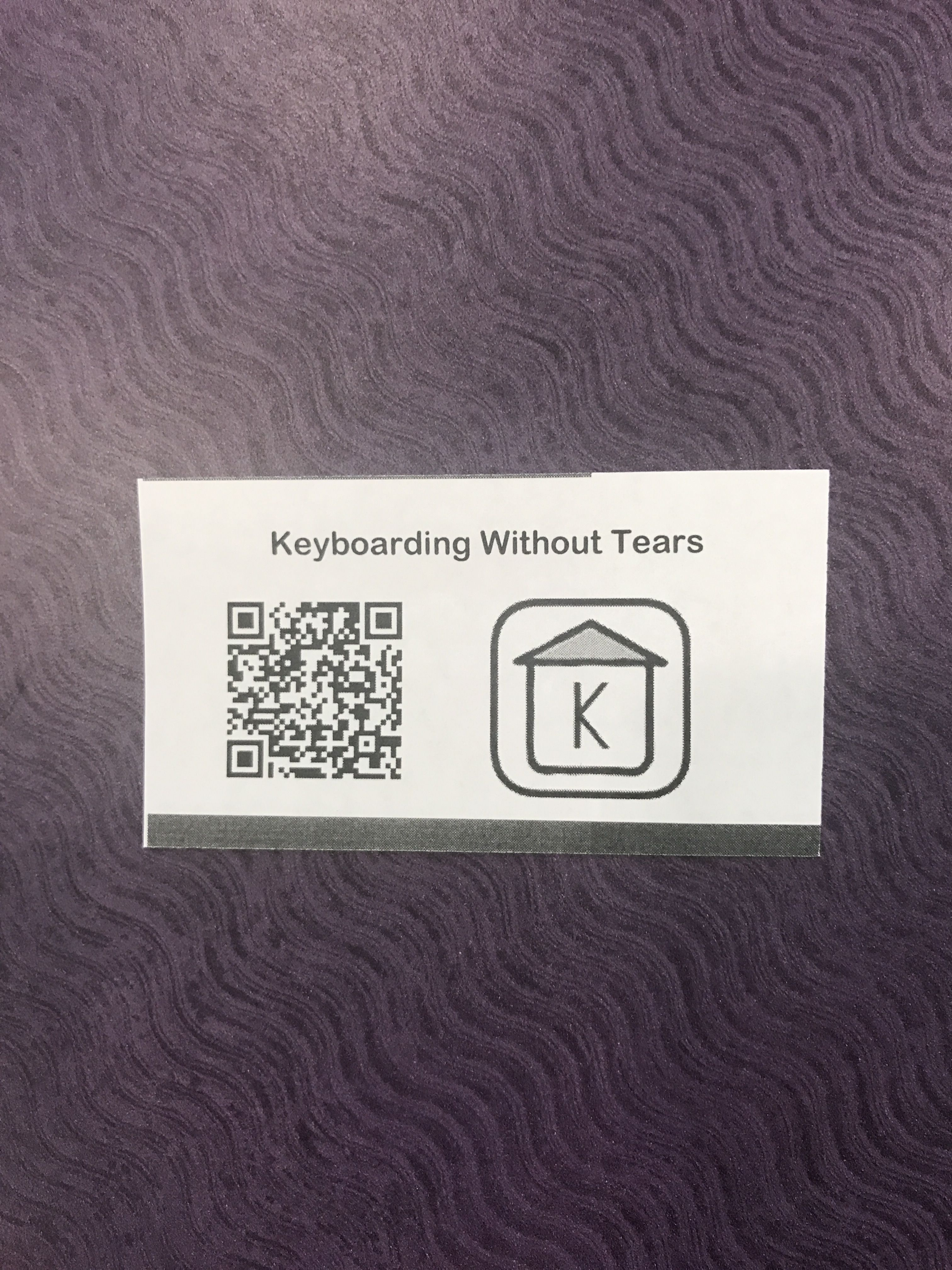 Make QR Code business cards to share websites with students easily ...