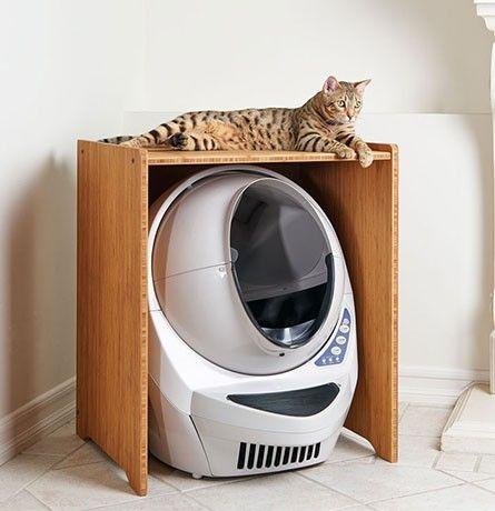 Decorative Litter Box Cat Litter Box Furniture  Litterrobot™ Iii Open Air Cabinet