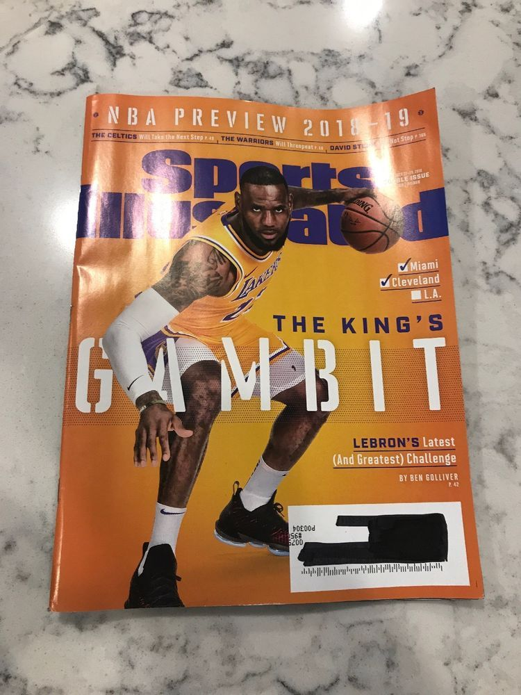 45551f527585 Sports Illustrated 2018-19 NBA Preview - Lebron James - Los Angeles Lakers