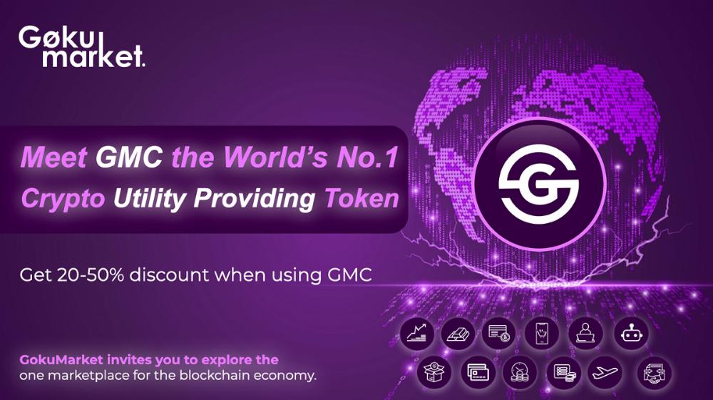 Meet Gmc The World S 1 Crypto Utility Providing Token In 2020 Gmc World Lie