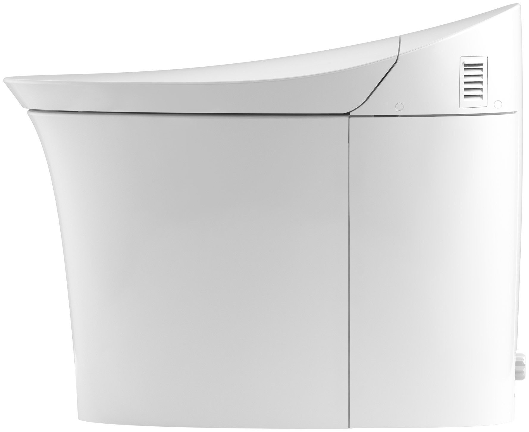 Kohler Veil K 5401 Pa 0 Comfort Height Intelligent Skirted One Piece Elongated Integrated Bidet Toilet Bidet Kohler Veil Bidet Toilet