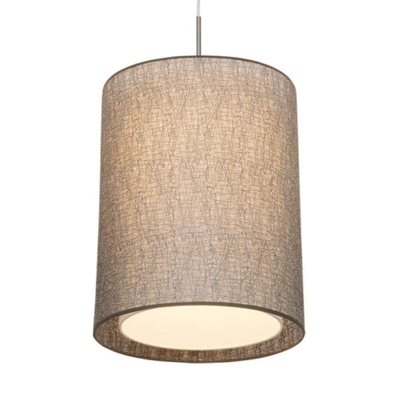 Stijlvolle Hanglamp Gaas Met Textiele Kap Hanglamp Stoffen Lampenkap Verlichting