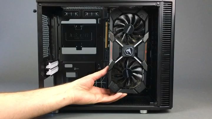 Easily Mount Your Gpu Video Card Vertically Video Video Card Custom Pc Computer Fan