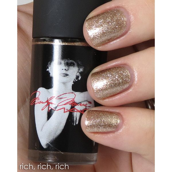 Review Swatches MAC Marilyn Monroe Collection Nail Lacquer Shades ...