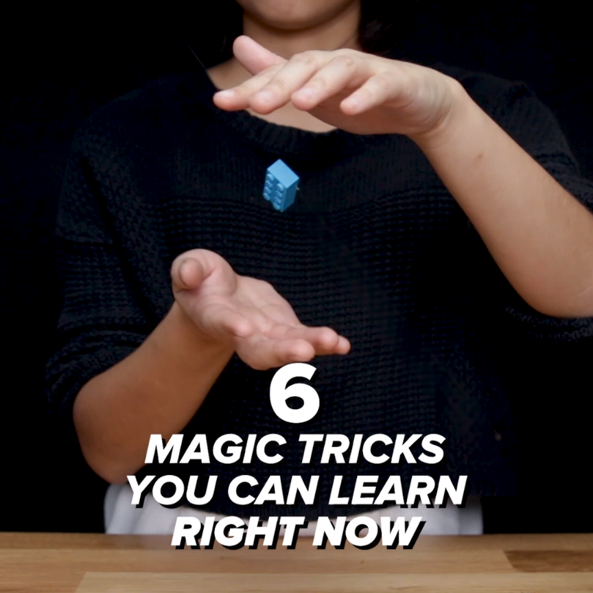 6 Magic Tricks You Can Learn Right Now is part of Magic tricks for kids - 6 Magic Tricks You Can Learn Right Now 🎩🐰