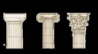 Doric Ionic And Corinthian Columns Roman Architecture Ancient Roman Architecture Greek Columns