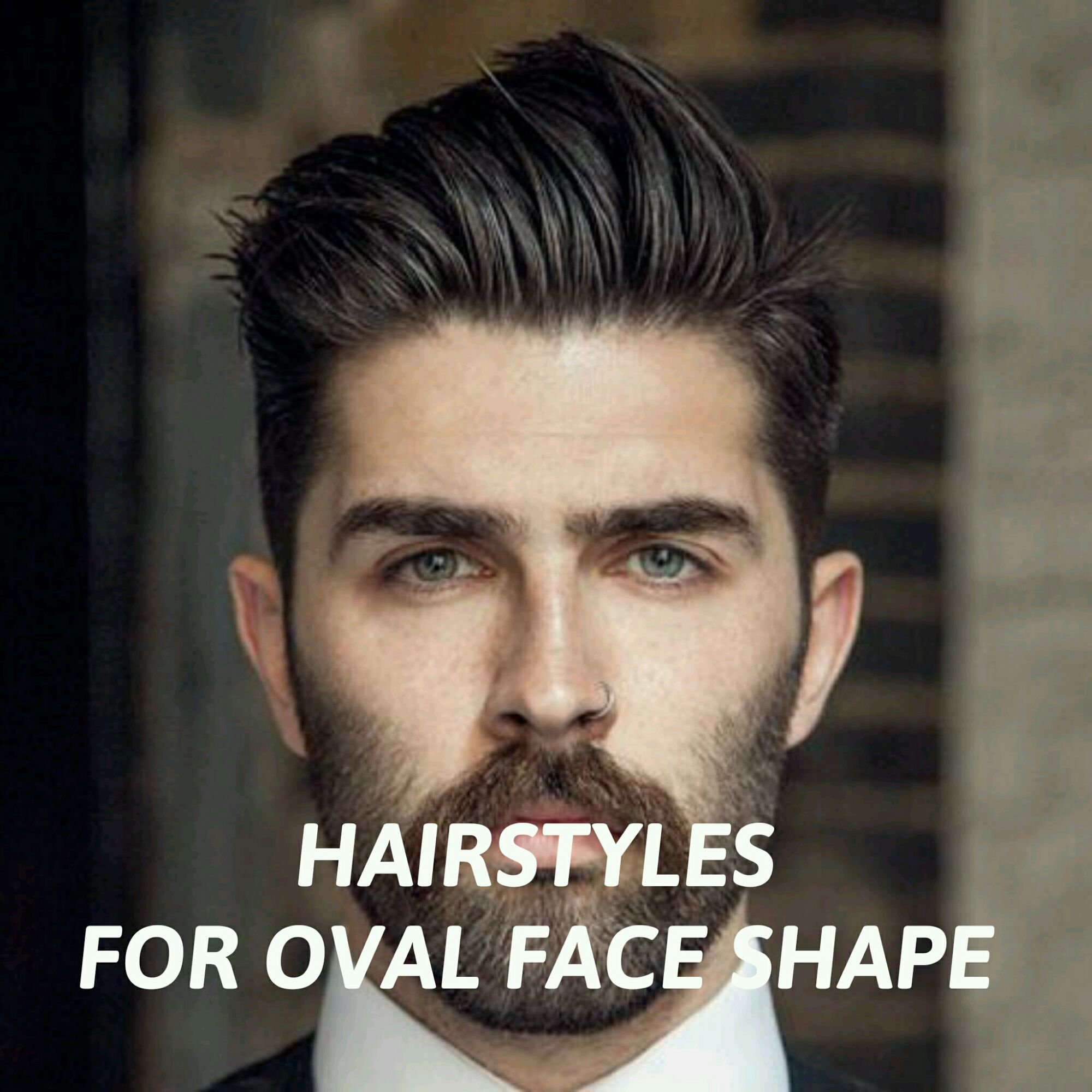 Oblong face haircut men menus hairstyles for oval face shape  cheveux  pinterest  oval